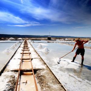 een trekpleister aan Sloveense kust: de zoutpannen van Secovlje; bron Turizem Portoroz